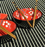 中国碗筷 图库摄影