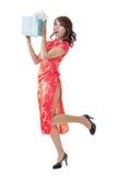 中国礼品新年度 免版税库存图片