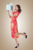 中国礼品新年度 免版税图库摄影