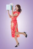 中国礼品新年度 库存图片