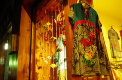 中国礼服 免版税库存图片
