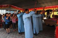 中国祷告 免版税库存图片