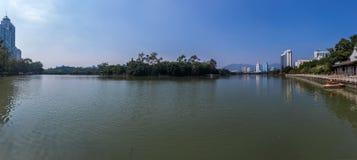 中国福州西湖 免版税图库摄影