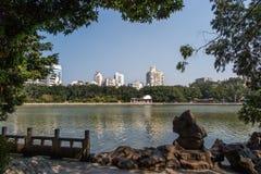 中国福州西湖 免版税库存图片