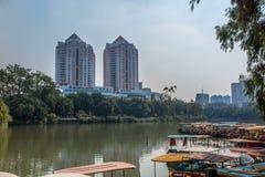 中国福州西湖 库存图片