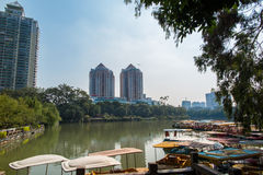 中国福州西湖 免版税库存照片