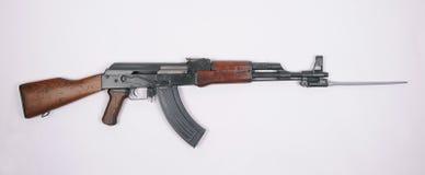 中国类型56与刺刀的卡拉什尼科夫 免版税库存图片