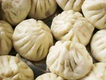 中国粤式点心快餐小圆面包 免版税图库摄影