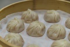 中国粤式点心- Xiaolongbao 免版税图库摄影