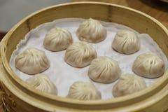 中国粤式点心- Xiaolongbao 免版税库存图片