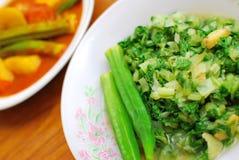 中国纤巧样式素食主义者 库存图片