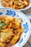 中国纤巧样式素食主义者 库存照片