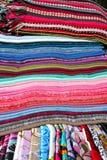 中国织品丝绸 免版税库存照片