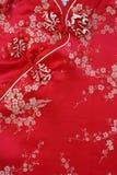 中国织品模式 免版税库存照片