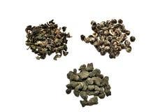 中国绿茶 免版税图库摄影