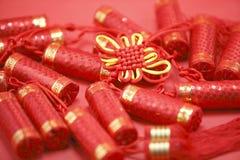 中国编织的工艺 库存照片