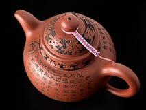中国罐茶 免版税图库摄影