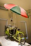 中国老流动食物自行车 库存照片