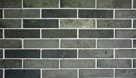 中国老灰色砖墙 免版税图库摄影