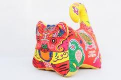 中国老虎玩具 图库摄影