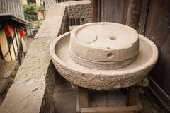 中国老Buhrimill 免版税库存照片