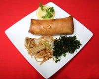 中国膳食 免版税库存照片