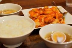 中国膳食 免版税图库摄影
