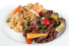 中国膳食 免版税库存图片