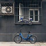 中国自行车份额方式 免版税库存图片