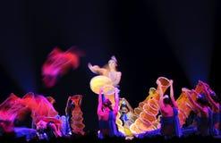 中国舞蹈演员伙计 库存照片