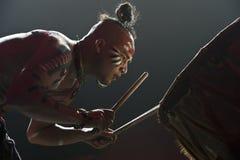 中国舞蹈演员国民 库存照片