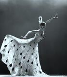 中国舞蹈演员国民 免版税图库摄影