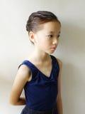 中国舞蹈演员女孩一点 库存照片