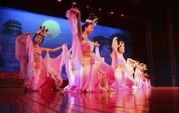 中国舞蹈演员 库存照片
