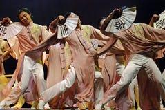 中国舞蹈演员 免版税库存图片