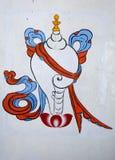 中国艺术绘画 免版税库存照片