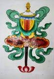 中国艺术绘画 图库摄影