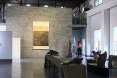 中国艺术画廊  库存图片