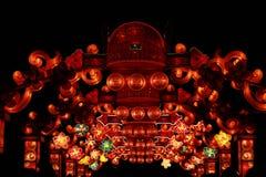 中国节日天 免版税库存照片