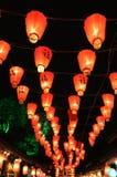 中国节日灯笼新年度 免版税库存图片