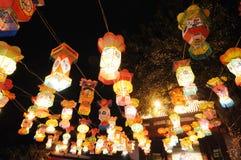 中国节日灯笼新年度 库存图片