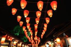 中国节日灯笼新年度 免版税库存照片