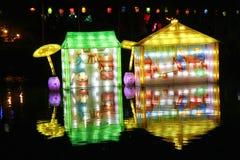 中国节日灯笼 库存图片