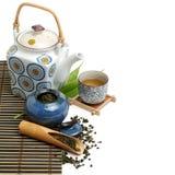 中国茶具 免版税库存图片