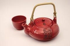 中国茶壶。 库存图片