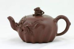 中国茶壶 免版税图库摄影