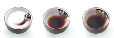 中国茶奶油 免版税库存照片