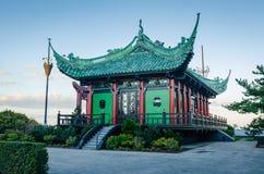 中国茶家的纽波特,罗德岛州 免版税库存照片