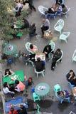 中国茶屋 库存图片