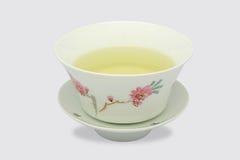 中国茶杯 免版税库存照片